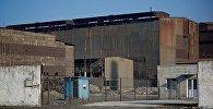 Завод ферросплавов в городе Зестафони