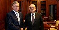 Премьер-министры Грузии и Азербайджана Георгий Квирикашвили и Артур Расизаде