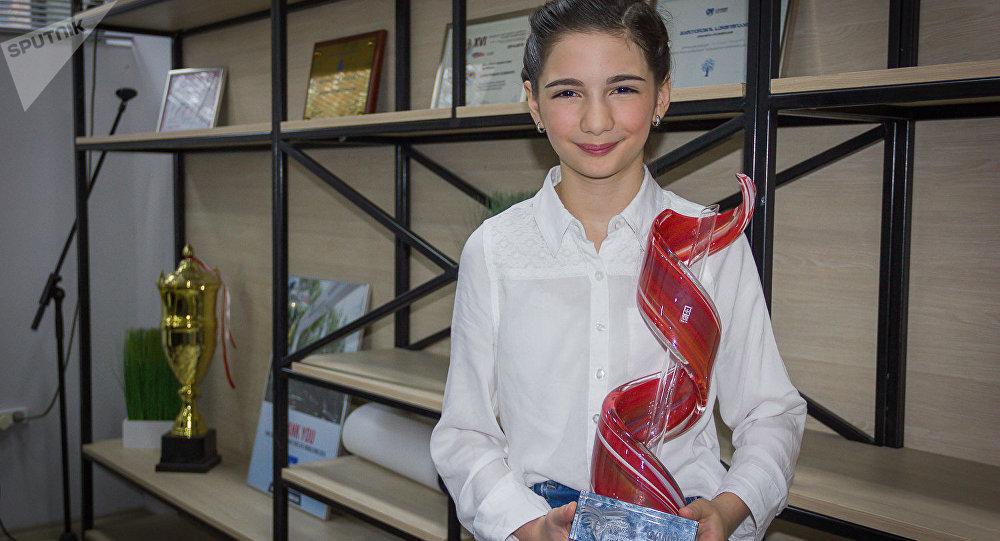 Победительница детского Евровидения Мариам Мамадашвили