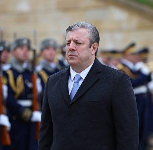 საქართველოს პრემიერ-მინისტრი გიორგი კვირიკაშვილი აზერბაიჯანში