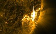 გეომაგნიტური ქარიშხალი მზეზე