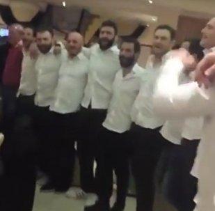 Грузинские регбисты запели после победы