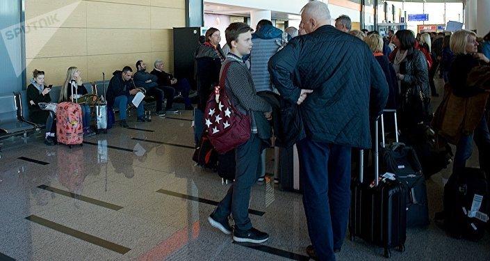 ИзТбилиси вКазань прибыл 1-ый рейс