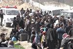 Как тысячи мирных сирийцев покидали Восточную Гуту