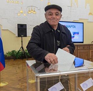 LIVE_Открытие избирательных участков для выборов президента РФ