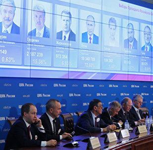 LIVE: ЦИК РФ объявляет предварительные результаты президентских выборов