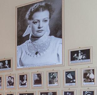 Мемориальная гримерная легендарной актрисы Натальи Бурмистровой
