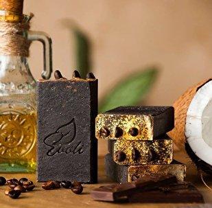 შოკოლადის ტანის საპონი