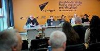 Мастер-класс в рамках образовательного проекта SputnikPro в Мультимедийном пресс-центре Sputnik Грузия
