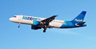 Самолет авиакомпании Jazeera Airways