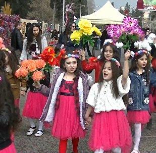 Праздник весны: как Новруз-байрам отметили азербайджанцы в Марнеули