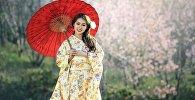 იაპონელი ქალი