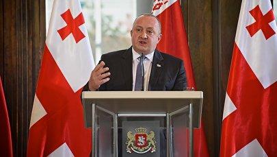 Президент Георгий Маргвелашвили