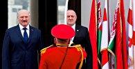 Лукашенко в Грузии: как президента Беларуси встретили в Тбилиси