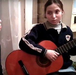 Сестры Кублашвили исполнили песню о Тбилиси