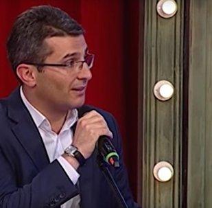Грузинский депутат поет о несчастной любви