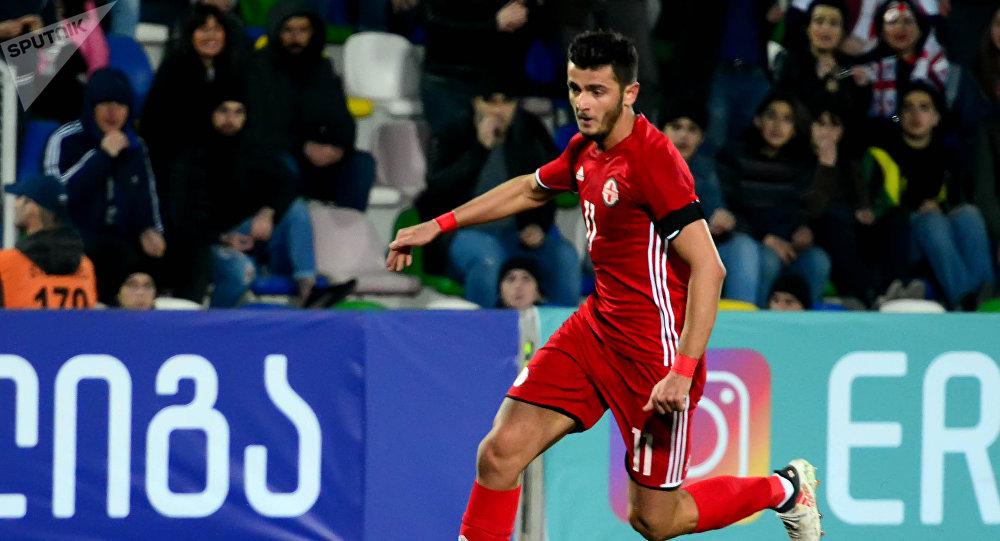 Победа сборной Грузии по футболу над командой Литвы