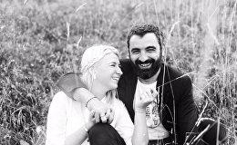 Таня Мерзлая с супругом