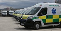Новые автомобили скорой помощи в Тбилиси