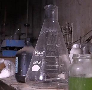В сирийском городе Дума обнаружили химлабораторию боевиков