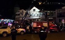 Пожар в ресторане Мачахела