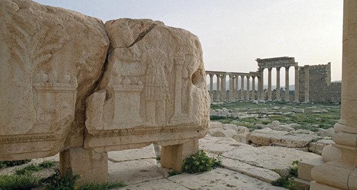 Развалины древней Пальмиры